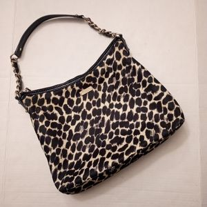 KATE SPADE | Medium Serena animal print purse
